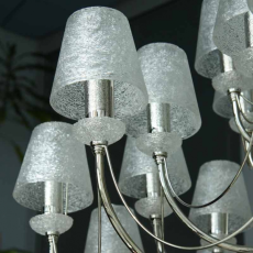 Lis Lighting żyrandol Retro Art 0280BZ_K biały